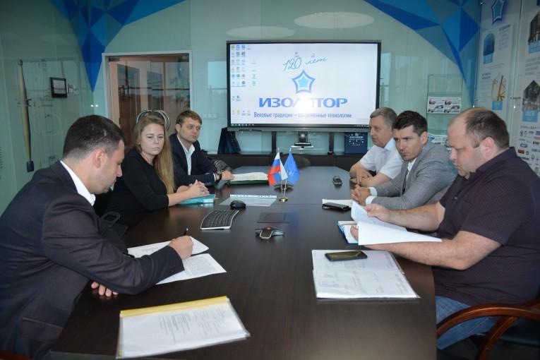 «Изолятор» принял представителей завода «Тольяттинский Трансформатор»