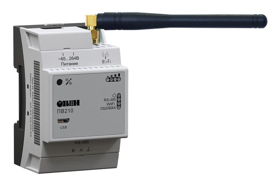ОВЕН представляет сетевой шлюз с поддержкой Wi-Fi