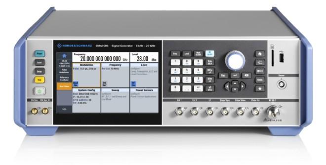 Rohde&Schwarz представил новые опции выбора частотного диапазона для аналоговых генераторов сигналов