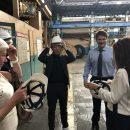 «Москабельмет» посетили представители NAGAKI