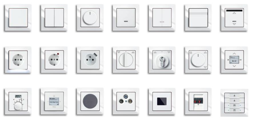 Эlevel расширяет ассортимент декоративных рамок в серии Busch-Axcent