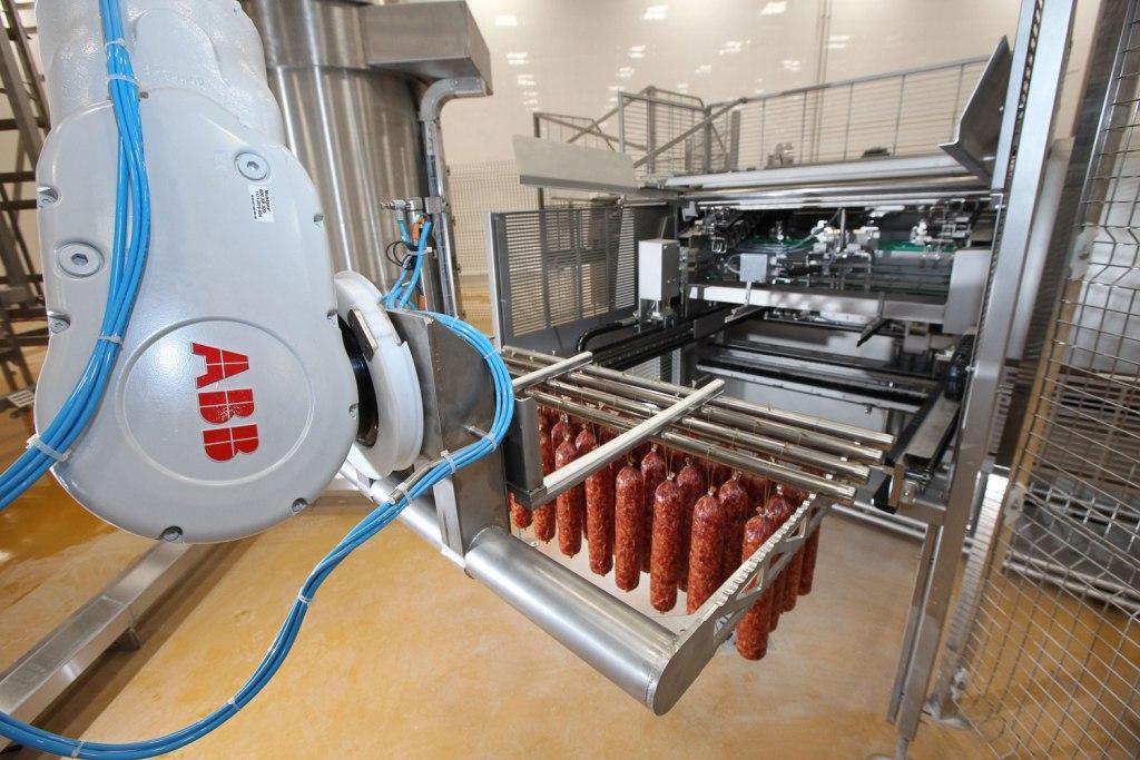 Промышленные роботы АВВ модернизируют новый мясокомбинат «Черкизово» в Кашире