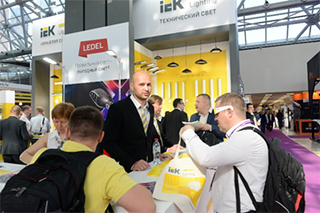 IEK Lighting и LEDEL на выставке Interlight Russia – двойной успех