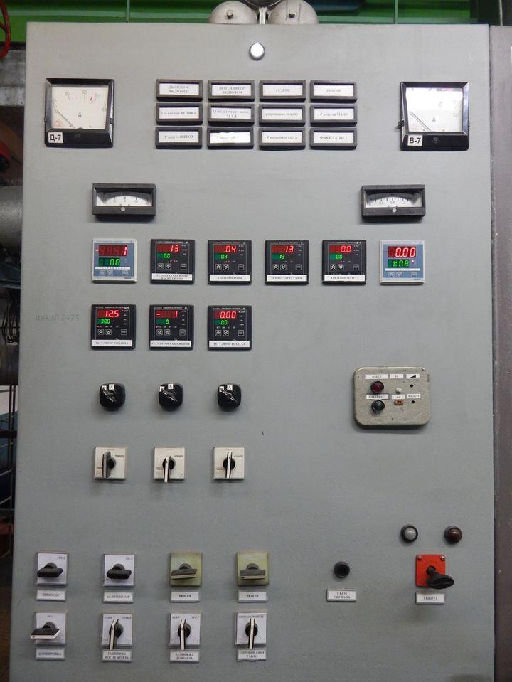 Щит управления водогрейным котлом КВ-ГМ модернизирован на базе оборудования ОВЕН