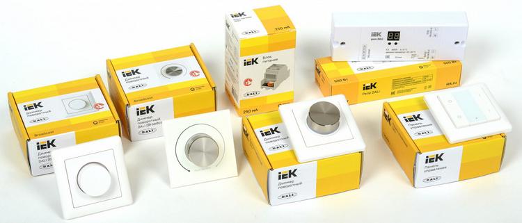 Новые компоненты системы управления освещением по протоколу DALI от IEK: скоро в ассортименте «Планеты Электрика»