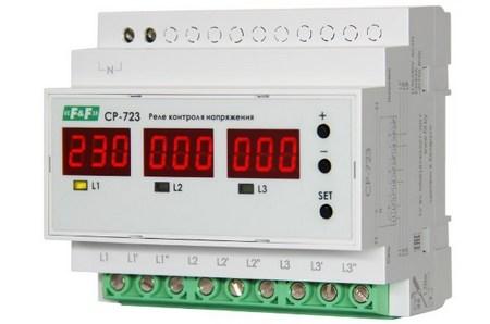 Трехфазное реле CP-723 от Евроавтоматика F&F