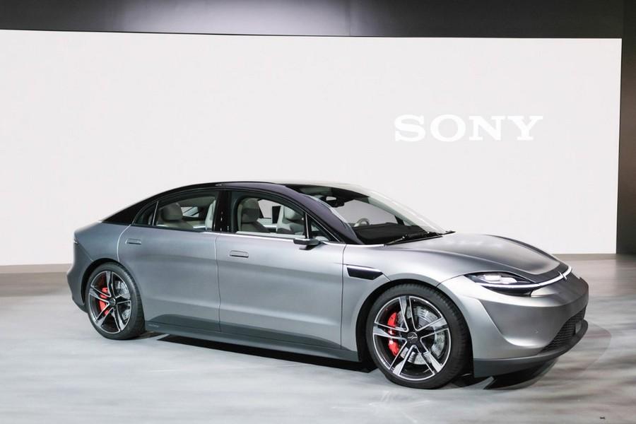 Vision-S — концепт электромобиля от Sony