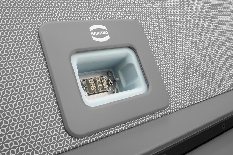 Технологии для соединений HARTING обеспечивают передачу электропитания, данных и сигналов