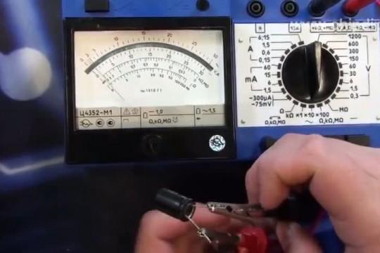 Прибор Ц4352-М1 - тестер для измерения тока